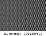 metal grid on wide background | Shutterstock . vector #1051359602