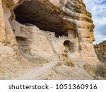 caves and cliffs of ancient... | Shutterstock . vector #1051360916