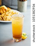 Small photo of Arnold palmer cocktail with sweet tea and lemonade