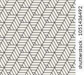 vector seamless pattern. modern ... | Shutterstock .eps vector #1051436492