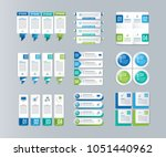 big infographic collection.... | Shutterstock .eps vector #1051440962