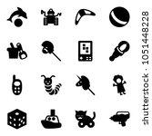 Solid Vector Icon Set   Dolphi...
