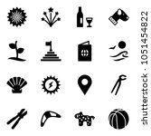 solid vector icon set  ... | Shutterstock .eps vector #1051454822