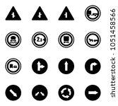 solid vector icon set  ...   Shutterstock .eps vector #1051458566