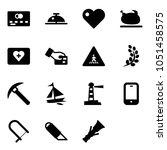 solid vector icon set   credit... | Shutterstock .eps vector #1051458575