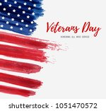 usa veterans day background.... | Shutterstock .eps vector #1051470572