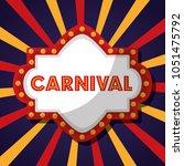 carnival  fair festival   Shutterstock .eps vector #1051475792