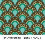 seamless abstract modern arc... | Shutterstock .eps vector #1051476476