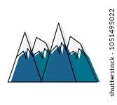 alps peakes icon    Shutterstock .eps vector #1051495022
