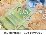 canadian dollars  concept of... | Shutterstock . vector #1051499012