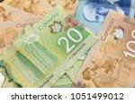 canadian dollars  concept of... | Shutterstock . vector #1051499012