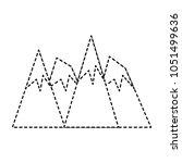 alps peakes icon    Shutterstock .eps vector #1051499636