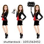 realtor avatar   clip art  ... | Shutterstock .eps vector #1051563452