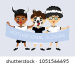 fan of new zealand national... | Shutterstock .eps vector #1051566695