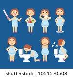 vector illustration signs of... | Shutterstock .eps vector #1051570508