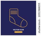 socks vector icon illustration