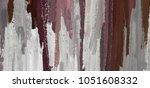 oil painting on canvas handmade.... | Shutterstock . vector #1051608332