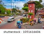 malacca  malaysia   13 march ... | Shutterstock . vector #1051616606
