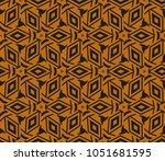 modern geometric ornament.... | Shutterstock .eps vector #1051681595