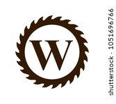 logo of woodwork company vector ...   Shutterstock .eps vector #1051696766