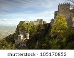 Panoramic View Of Three Ancien...
