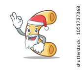 santa macaroni mascot cartoon...   Shutterstock .eps vector #1051737368