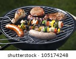 grilling time  grill | Shutterstock . vector #105174248