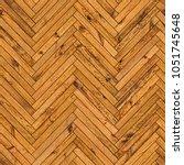 natural parquet seamless floor... | Shutterstock . vector #1051745648