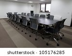 empty business conference room... | Shutterstock . vector #105176285