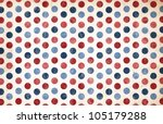 patriotic background   red and... | Shutterstock . vector #105179288