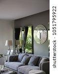 my design cozy interior living...   Shutterstock . vector #1051795922