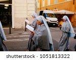 rome italy 24 10 2015 ... | Shutterstock . vector #1051813322