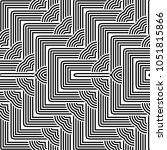 design seamless monochrome... | Shutterstock .eps vector #1051815866
