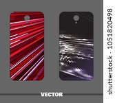 bright covers for mobile phone. ...   Shutterstock .eps vector #1051820498