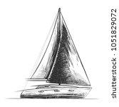 vector engraved style... | Shutterstock .eps vector #1051829072