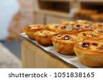 small delicious rice cakes or... | Shutterstock . vector #1051838165
