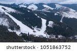 ski resort jasna slovakia... | Shutterstock . vector #1051863752