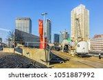 rotterdam  the netherlands  ... | Shutterstock . vector #1051887992