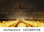plane takes off | Shutterstock . vector #1051889108