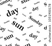 sunday  sun  day pattern  t... | Shutterstock .eps vector #1051900178
