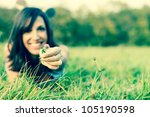 flower and meadow | Shutterstock . vector #105190598