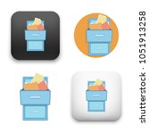 flat vector icon   illustration ... | Shutterstock .eps vector #1051913258