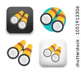 flat vector icon   illustration ... | Shutterstock .eps vector #1051913306