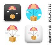 flat vector icon   illustration ... | Shutterstock .eps vector #1051913312