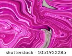 marble ink colorful. pink... | Shutterstock . vector #1051922285