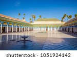 courtyard at el bahia palace ... | Shutterstock . vector #1051924142