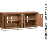 Small photo of Large Sideboard Hampshire Large Sideboard, Solid Sideboards & Dakota Wood Sideboards