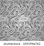 seamless traditional indian...   Shutterstock .eps vector #1051946762