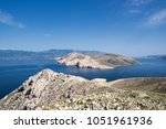seascape view from the island...   Shutterstock . vector #1051961936