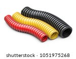 colored corrugated pipe for... | Shutterstock . vector #1051975268